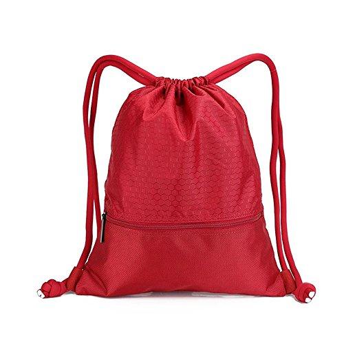 Basketball Design Waterproof Drawstring Bag - 8