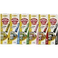 Dekoback Lebensmittelfarb-Pasten / Gel Spar-Set mit 6 verschiedenen Farben, 150 g