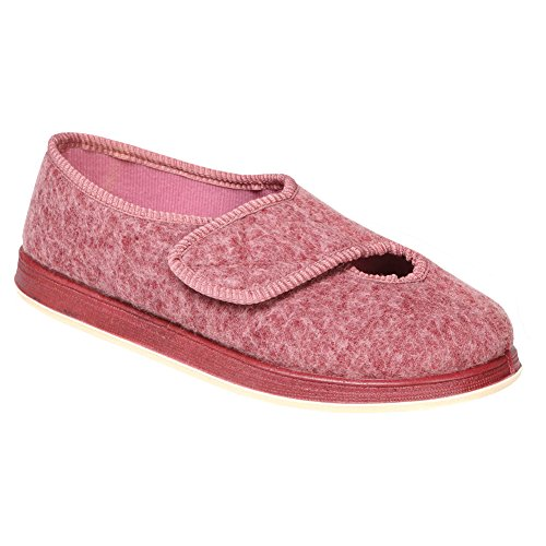 womens extra wide slippers - 7
