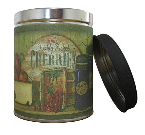 Our Own Candle Company Blueberry Pie Scented Candle in 13 Ounce Tin with a Cans of Fruit Label ()