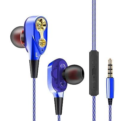 Auriculares Xiaomi Mi A2 con microfono Dual Dynamic Drivers in-Ear Estereo Cascos Xiaomi Mi