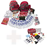 Bundle & Save | Emergency Zone 4 Person Family Prep 72 Hour Survival Kit + Basic Dog Emergency Kit | Perfect Way to Prepare Your Family | Be Ready for Disasters like Hurricanes, Earthquake, Fires