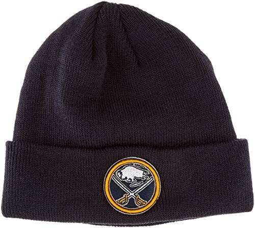 OTS NHL Buffalo Sabres Raised Cuff Knit Cap, Navy, Toddler