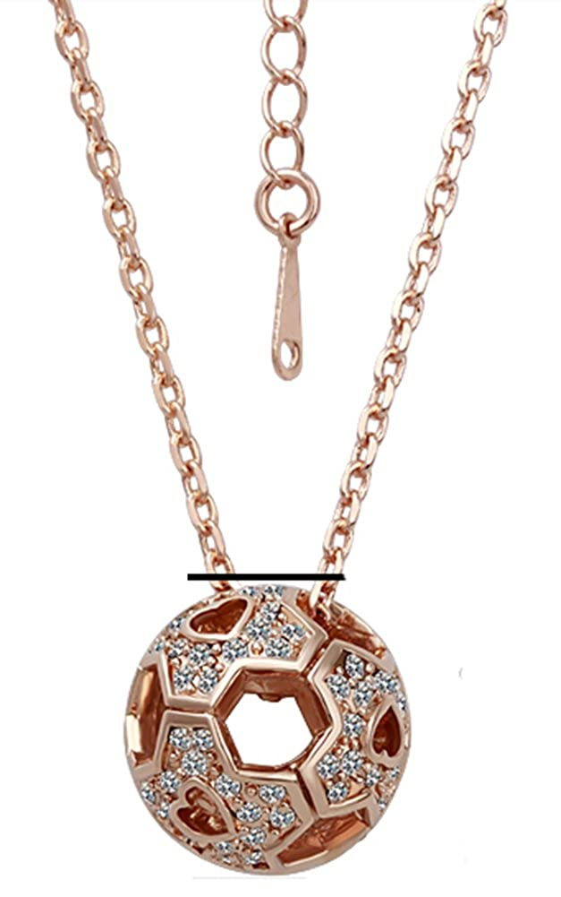 18K GP Gold Plated Necklace Fine Fashion GN043 AmaranTeen