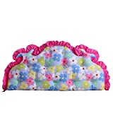 Double sofa pillow / Korean cotton bed soft bag / large back bed / pastoral cushions / ( Size : 15070cm )