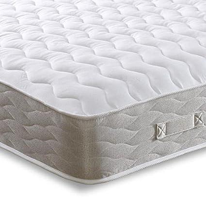 Cheap Beds Direct Hades - Colchón de Doble Cara con muelles, King Size (Zip