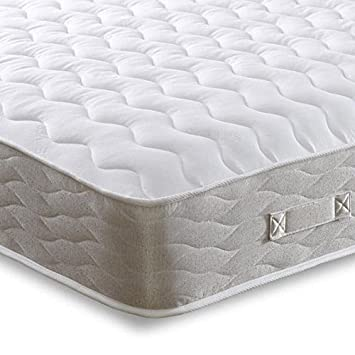 Cheap Beds Direct Hades - Colchón de Doble Cara con muelles, King Size (Zip