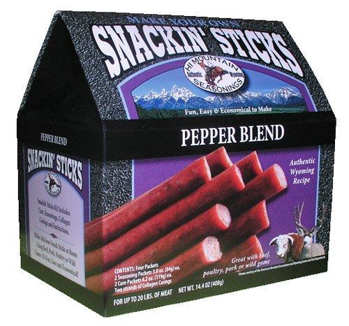 Hi Mountain Jerky Pepper Blend Snackin' Stick - Snackin Kit Stick