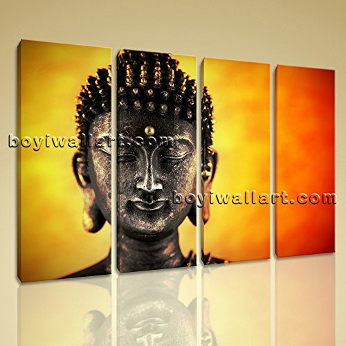 Amazon.com: Large Buddha Face Hd Print Wall Decor Living Room ...