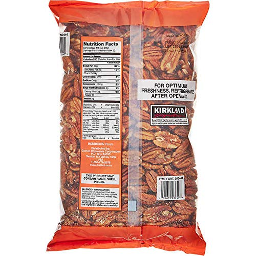 Kirkland Signature Expect More Pecan Halves 2 lb