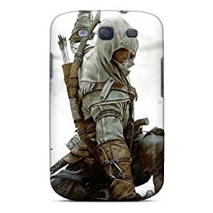 Bumper Hard Cell-phone Cases For Samsung Galaxy S3 With Customized Beautiful Assassins Creed Iii 3 Series RudyPugh