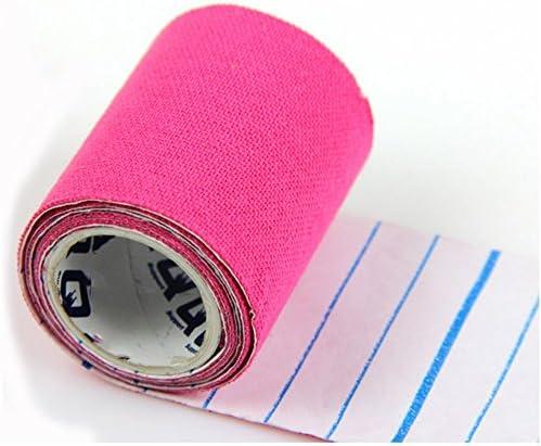 Camouflage Rose Ruban de Bandage de Sport adh/ésif de Muscle /élastique adh/ésif Simlug Ruban de kin/ésiologie Ruban de Levage de Sports athl/étiques pour Le soulagement de la Douleur