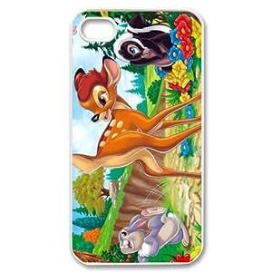 Disney Cartoon Bambi Customize Back Case Suitable for iphone 4 4S JN4S-1697