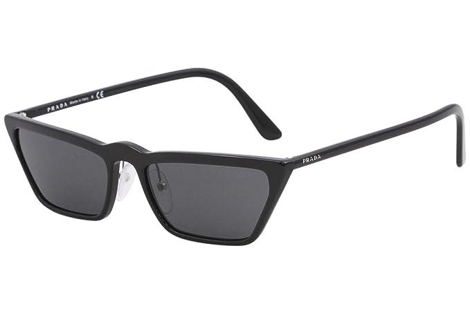 Prada 0PR 19US Gafas de sol, Black, 58 para Mujer: Amazon.es ...