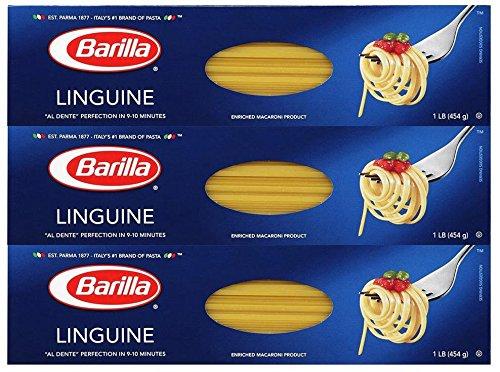 Barilla Linguini - 16 oz - 3 pk (Linguini Pasta compare prices)