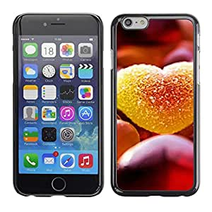 Soft Silicone Rubber Case Hard Cover Protective Accessory Compatible with Apple iPhone 6 (4.7') - Love Candy