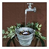 floating faucet fountain - Floating Faucet Indoor Tabletop Water Fountain with LED Light