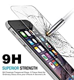 iphone 5 protect screen - Generic iPhone Screen Protector, HD Clear, Anti-Fingerprint, Anti-scratch, Shatterproof, Premium Tempered Glass for SE, 5S, 5C, 5 - Ultra-Clear