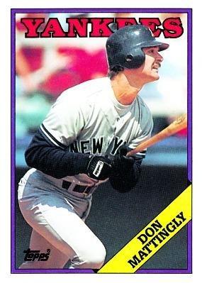 1988 topps baseball card 300 don mattingly new york yankees at 1988 topps baseball card 300 don mattingly new york yankees sciox Gallery