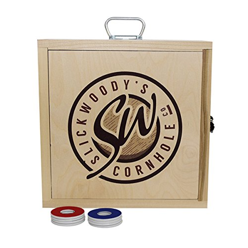 SW Iconic Logo Washer Toss Game by Slick Woodys
