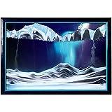 """Rainbow Vision Sand Picture--Medium size """"Aurora Borelis"""""""