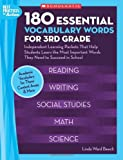 180 Essential Vocabulary Words, Linda Beech, 0439897343