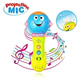 Toy Gift for 12-24 Month Baby Boy, 6-18 Month Girl Toy Microphone Toys for 1-3 Year Old Boy Kid Toys Gift Age 1 2 3 Birthday Present Toy Microphone Music Toy 8M+