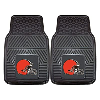 FANMATS NFL Cleveland Browns Vinyl Car Mat