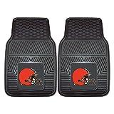 cleveland car floor mat - FANMATS NFL Cleveland Browns Vinyl Heavy Duty Car Mat
