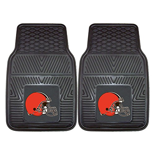 - FANMATS NFL Cleveland Browns Vinyl Heavy Duty Car Mat