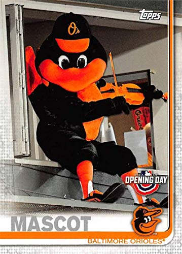 (2019 Topps Opening Day Mascots Baseball #M-24 The Oriole Bird Baltimore Orioles Official MLB Trading Card)