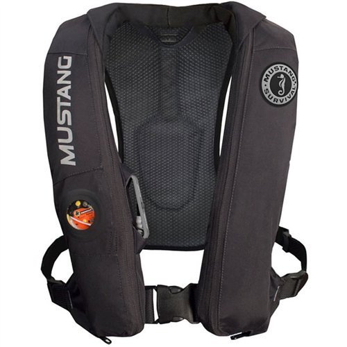 (Mustang Survival MD518313 Elite Inflatable PFD - Black)