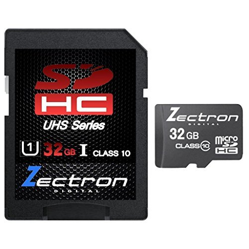 Zectron 32GB Micro SDHC-UHS-1 Memory Card for Samsung Gal...