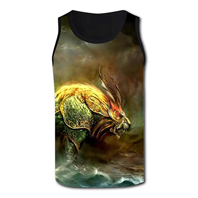 37346e91 Mens Fantasy Monster Sports Casual Sleeveless Vest Creative 3D Printed  Graphic Hipster Design Sleeveless at Amazon Men's Clothing store: