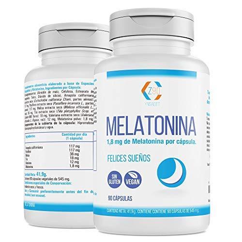 🥇 Melatonina Pack de 2 unidades