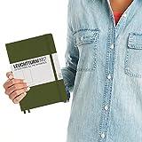 Leuchtturm1917 Medium A5 Plain Hardcover Notebook