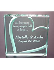 Personalized Plaque All Because Two People Fell In Love