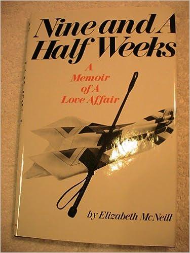 Nine And A Half Weeks Book