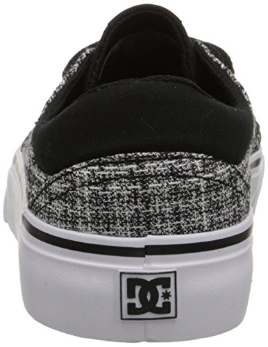 Black Shoe Women's Trase SE DC TX Grey White Skate xCzFwxqY