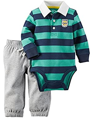 Carter's Baby Boys' 2 Piece Stripe Set (Baby)
