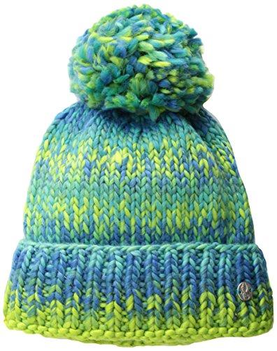 Spyder Bitsy Twisty Hat, Baltic/French Blue/Fresh, One Size