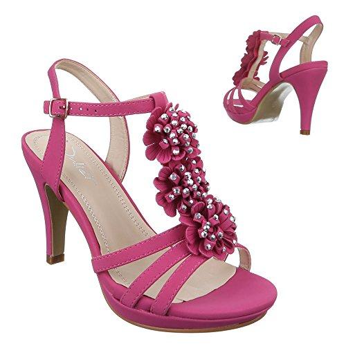 Ital-Design - Sandalias / Sandalias Mujer Rosa - rosa