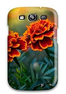 9125521K51081570 Galaxy S3 Case Bumper Tpu Skin Cover For Flower Pair Accessories