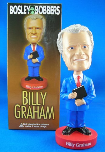 Rev Reverend Bill Billy Graham Limited Edition Rare Bobblehead Bobble Head