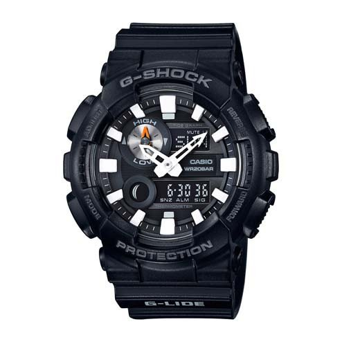- Casio G-Shock GAX-100 G-Lide Series Watches - Black / One Size