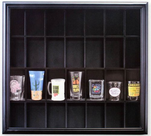 pinnacle-black-shot-glass-case-with-hinged-front