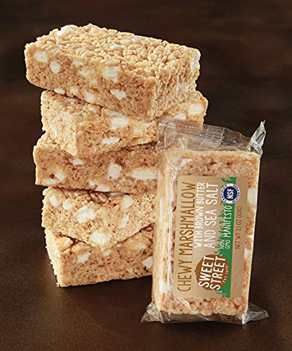 Sweet Street Certified Gluten Free Individually Wrapped Chewy Marshmallow with Brown Butter and Sea Salt 2.1 ounce (Pack of 40) by Sweet Street Frozen