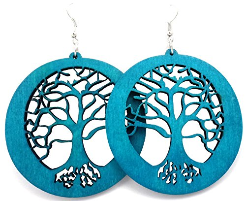 wood earrings - 8