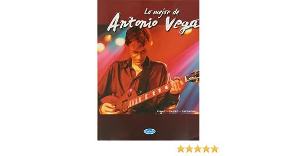 Lo Mejor de Antonio Vega: Amazon.es: Antonio Vega, Voice, Guitar Piano: Libros