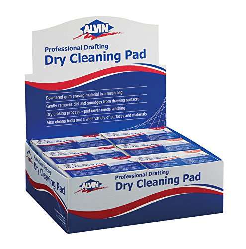 Display-Dry Cleaning Pads 12pc by Alvin